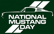 NATIONAL MUSTANG DAY